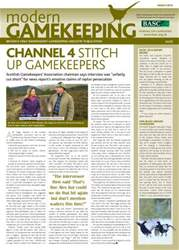 Modern Gamekeeping issue MARCH 2014