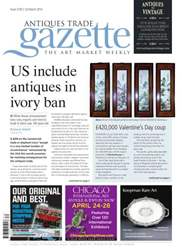 Antiques Trade Gazette issue ATG Issue 2130