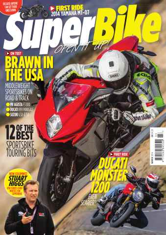 Superbike Magazine issue March 2014