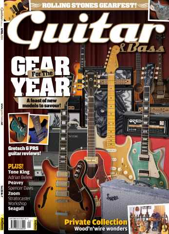 Guitar & Bass Magazine issue April 2014 Vol.25 no.7