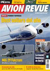 Avion Revue Internacional España issue Número 381