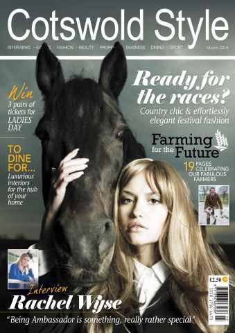 Cotswold Style issue Cotswold Style March 2014