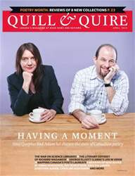 Quill & Quire issue APRIL 2014