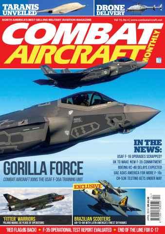Combat Aircraft issue April 2014