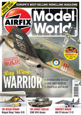 Airfix Model World issue April 2014