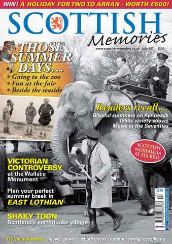 Scottish Memories issue July 2011