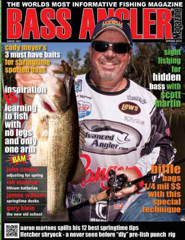 BASS ANGLER MAGAZINE issue Volume 23 Issue 1
