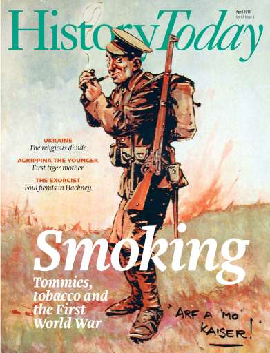 History Today issue April 2014