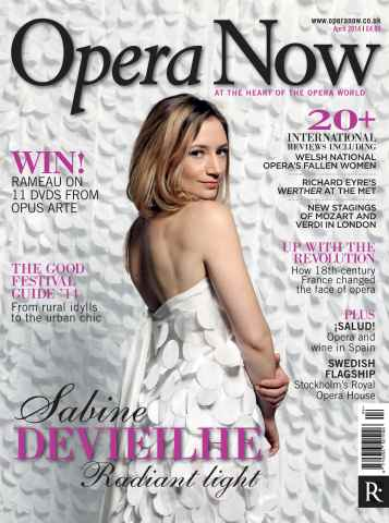 Opera Now issue April 2014
