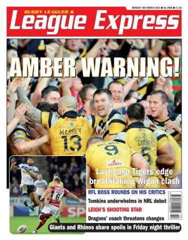 League Express issue 2905
