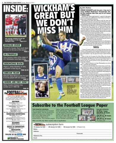 The Football League Paper Preview 2
