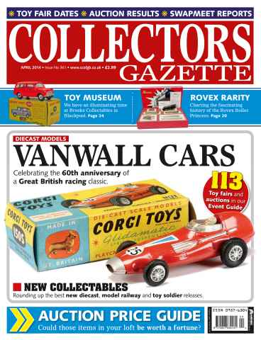 Collectors Gazette issue April Issue