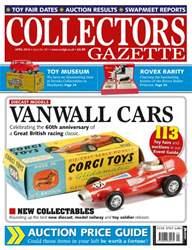 Collectors Gazette issue April Issue