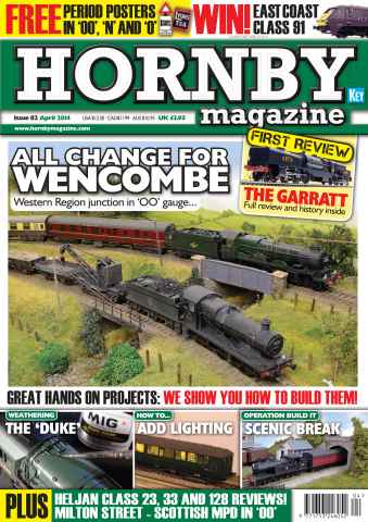 Hornby Magazine issue April 2014
