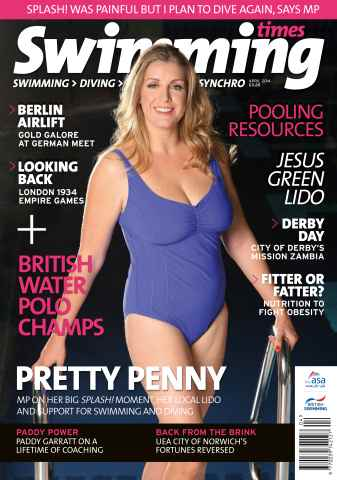 Swimming Times issue April 14