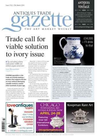 Antiques Trade Gazette issue ATG Issue 2132