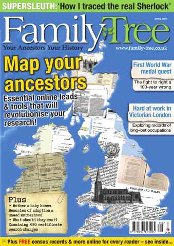 Family Tree issue Family Tree April 2014