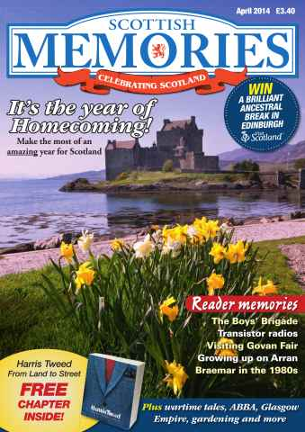 Scottish Memories issue April 2014