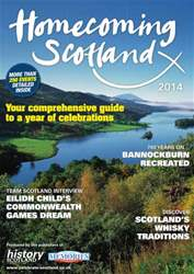 Scottish Memories issue Your guide to Homecoming Scotland 2014