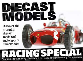 Diecast Models - Racing Special issue Diecast Models - Racing Special