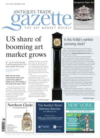 Antiques Trade Gazette issue ATG Issue 2133