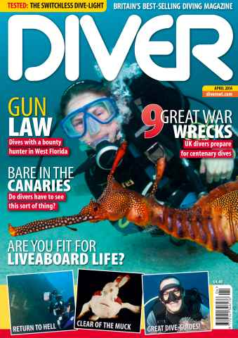 DIVER issue APRIL 2014
