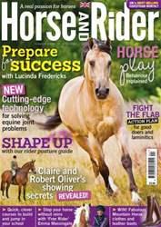 Horse&Rider Magazine - UK equestrian magazine for Horse and Rider issue Horse&Rider Magazine – April 2014