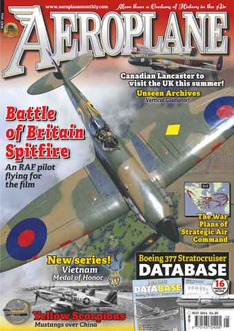 Aeroplane issue No.493 Battle of Britain Spitfire