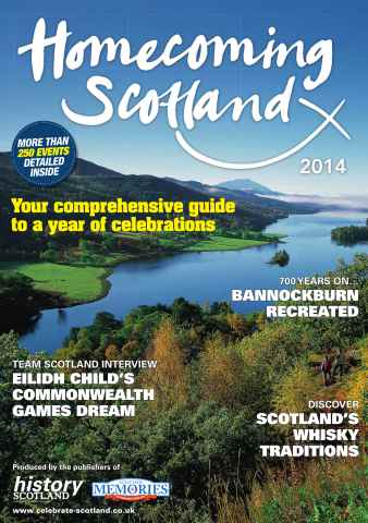 History Scotland issue Homecoming Guide 2014