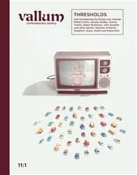 Vallum Magazine Cover