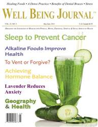 Well Being Journal issue May/June 2014