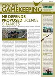 Modern Gamekeeping issue APRIL 2014