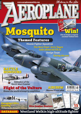 Aeroplane issue No.460 Mosquito
