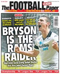 The Football League Paper issue 23rd March 2014