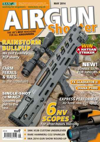 Airgun Shooter issue May 2014