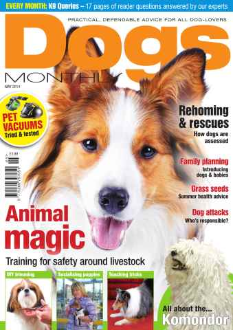 Dogs Monthly issue Dogs Monthly May 2014