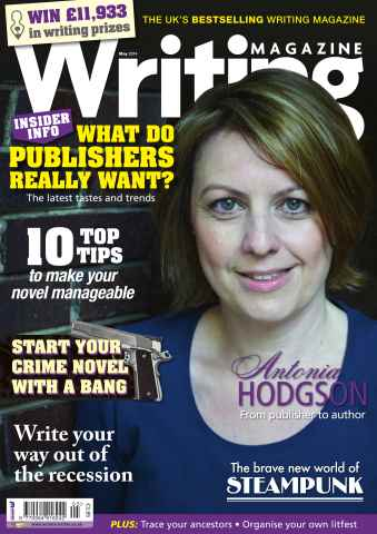 Writing Magazine issue May 2014