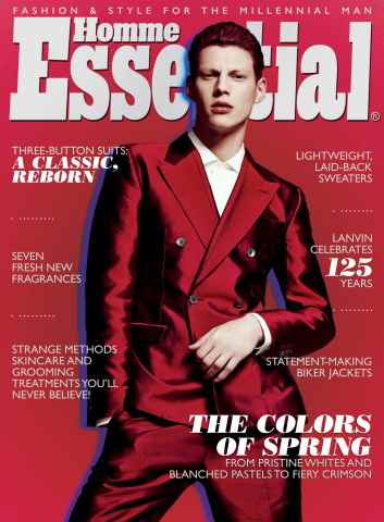 Essential Homme issue April-May 2014