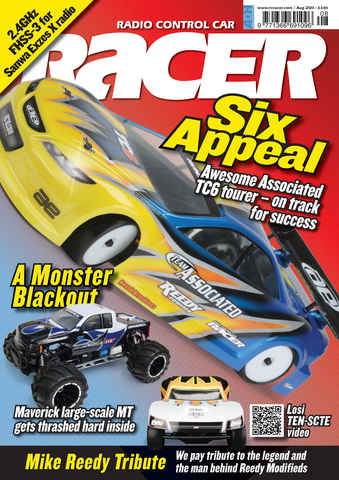Radio Control Car Racer issue Aug 2011