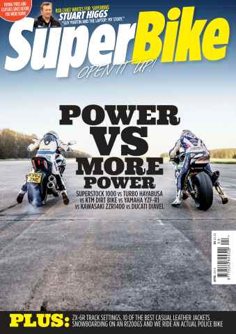 Superbike Magazine issue April 2014