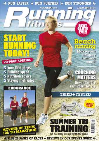 Running Fitness issue Beginners' Guide Aug 2011