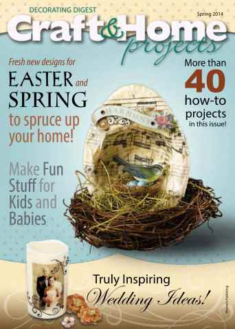 Craft & Home Projects issue Spring 2014
