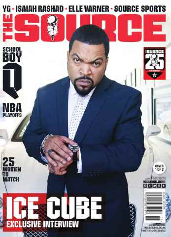 The Source Magazine issue #262 The Source Magazine Ice Cube