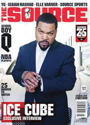 The Source Magazine issue #262 The Source Magazine Ice Cube