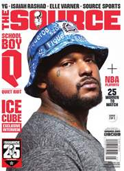 The Source Magazine issue #262 The Source Magazine Schoolboy Q