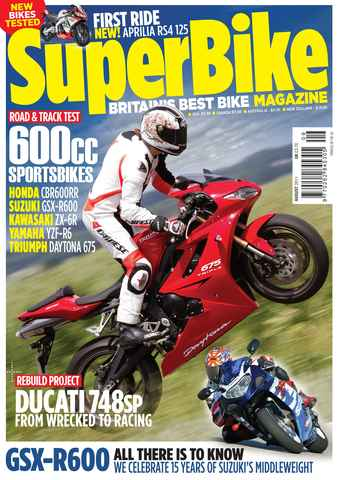 Superbike Magazine issue August 2011