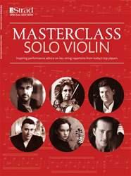 The Strad issue Masterclass: Solo Violin