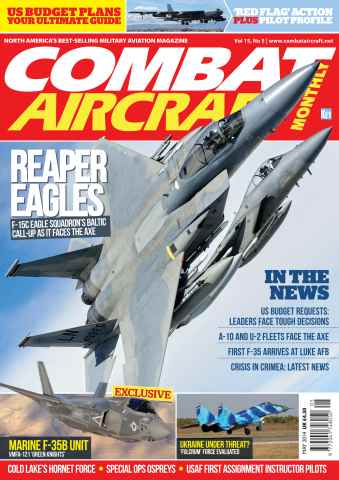 Combat Aircraft issue May 2014