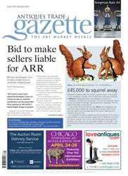Antiques Trade Gazette issue ATG Issue 2135