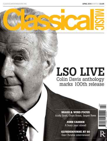 Classical Music issue April 2014